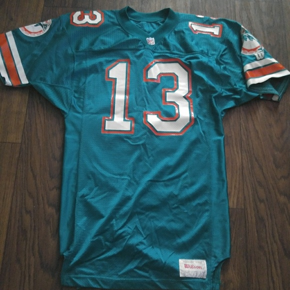 finest selection 7b813 240c4 Wilson Authentic NFL Miami Dolphins Jersey